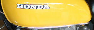 HONDA FUEL/GAS TANK CHROME MOULDING/MOLDING TRIM CB450 CB360 CB 360 450 CB360T