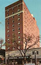 Mobile AL Hotel Admiral Semmes Postcard 1950s