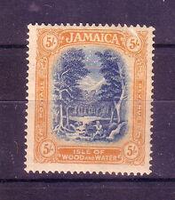 Jamaica: 1919-1921 Scott  86, very good lot, high value Hinged. JA02