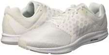 Nike Downshifter 7 Men's Running Shoe Size 8 (4E) Wide White/Pure Platinum NEW