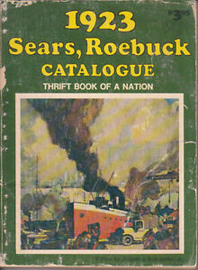 1923 SEARS ROEBUCK CATALOGUE Reproduction - DBI trade Paperback 1973 - Good