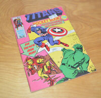 Vintage MARVEL AVENGERS UK Pocket Book Comic THE TITANS No. 4 Digest 1980 Bronze