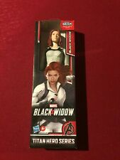 Marvel Titan Hero Series Black Widow 12 Inch Action Figure New