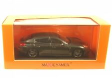Porsche Panamera Turbo S 2013 Grey Metallic 1 43 Model Minichamps