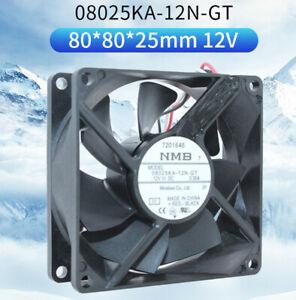 NMB 08025KA-12N-GT 8025 12V 0.30A IP68 Waterproof Fan
