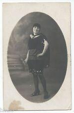 BM559 Carte Photo vintage card RPPC Femme woman mode fashion cadre ovale
