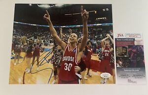 Stephen Curry Signed 8x10 Photo DAVISDON JSA COA Autograph #PP14574 Warriors