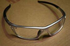 MSA Safety Glasses / Specs / Eyewear Silver Frame, Clear Lens. AS/NZ Standards