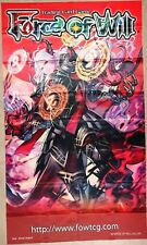 Force of Will FOW TCG R2 Welser, King of Demons ORIGINAL WALL BANNER NEW