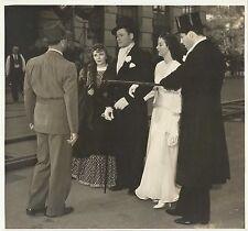 """ROSALIND RUSSELL, OLIVIA DE HAVILLAND & ERROL FLYNN """"Four's a Crowd"""" Orig. 1938"""