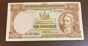 New Zealand 10 SHILLINGS 1940/Rare /XXXF