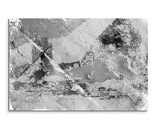 120x80cm astratto_913 Nero Bianco Grigio moderno casual Tela Sinus Art