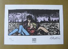 BAUDOIN - LE CHANT DES BALEINES - EO + Ex-Libris Signé Numéroté - Aire Libre