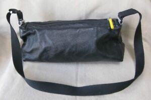 Mandarina Duck black leather shoulder bag baguette size S / M