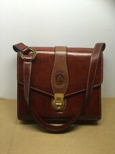 VINTAGE women's J&D Italy collection brown handbag