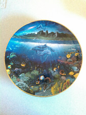 A Discovery Off Anahola by Robert Lyn Nelson collector plate The Danbury Mint