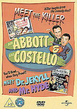 Abbott And Costello - Meet The Killer/Jekyll And Hyde (DVD, 2012)