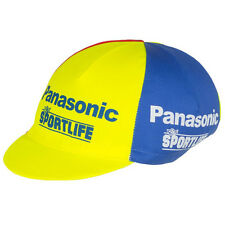 PANASONIC SPORTLIFE RETRO CYCLING BIKE CAP - Vintage  Fixed Gear - Made in Italy