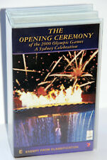 SYDNEY 2000 OLYMPIC GAMES OPENING CEREMONY VHS VIDEOS (NEW, SEALED)