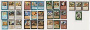MTG Unglued set of 31 cards common uncommon Magic the gathering