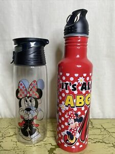 2 Disney Minnie Mouse Water Bottles Its All About Me
