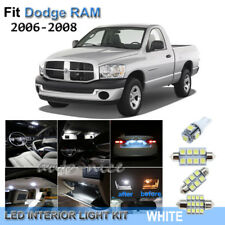 For 2006-2008 Dodge RAM 1500 2500 3500 Xenon White LED Interior Lights Kit