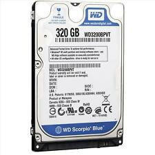 "Western Digital Scorpio Blue 320GB,Internal,5400 RPM,6.35 cm (2.5"") (WD3200BPVT) Mobile HDD"