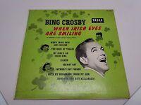 Bing Crosby When Irish Eyes Are Smiling Decca Records