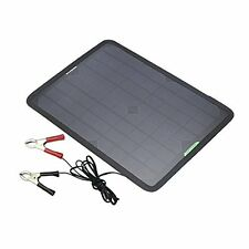 ALLPOWERS 18V 12V 10W Portable Solar Panel Battery Maintainer Charger Backup...