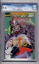 "Fantastic Four Annual #23 CGC 9.4 WP ""1st..App..AHAB! Byrne Cover!"