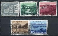 Schweiz 1954 Mi. 613-617 Gestempelt 100% Pro Patria, Landschaften
