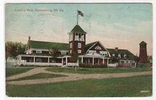 Country Club Parkersburg West Virginia 1911 postcard