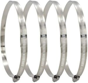 5 AirTech-UK Duct Jubliee Clip Clamp For Flexible Ducting Hose Pipe Ventilation 250mm Pack of 2 5 and 10 3