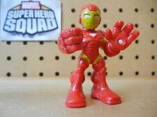 Marvel Super Hero Squad IRON MAN SHS Cartoon Armor in Bright Red & Yellow