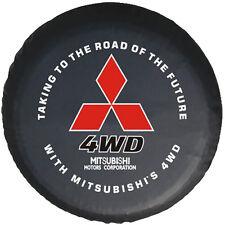 """Spare Tire Cover 16inch(30""""-31"""") For Mitsubishi Montero PAJERO 4WD HD Vinyl"""
