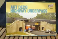 Walthers 933-3800 Cornerstone US Series Art Deco Highway Underpass,Brücke in OVP