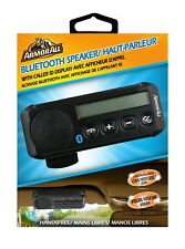 ARMOR ALL Black Handsfree Bluetooth Speakerphone with Visor Clip and Caller ID