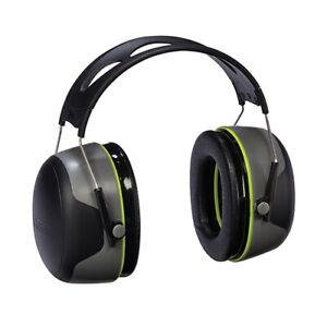 3M Sport Bulls Eye Hearing Protection Ear Muff 27 db Gray/Black 97041