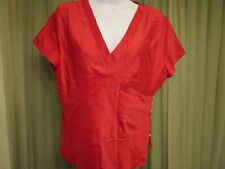 Talbot's Women's Pure Silk Casual Work Evening Blouse Top Size 12