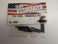 Team Associated - Tc3 Steel Turnbuckle Set - Model # 3867