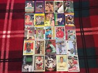 HALL OF FAME Baseball Card Lot 1979-2020 HANK AARON NOLAN RYAN TOM SEAVER +