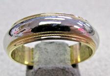 Men's  Tiffany & Co. Platinum & 18k   Wedding Band Ring size 10    Make Offer