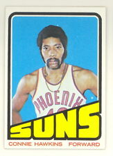 1972-73 TOPPS BASKETBALL CONNIE HAWKINS CARD #30 NM-NMMT NO CREASES (494)