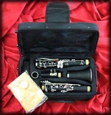 Clarinete Kobrat Sib 17 Llaves plateadas Nuevo Y Garantizado
