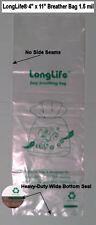 50 - 4 X 11 LongLife® Nano Breather Bags +++ KORDON ALTERNATIVE & USA SELLER +++