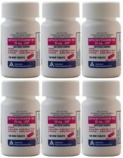 Diphenhydramine 25 mg Generic Benadryl Allergy 100 Mini Tabs per Bottle 6 PACK