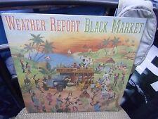 Weather Report Black Market [Jaco Pastorius Wayne Shorter] LP 1976 Columbia VG+