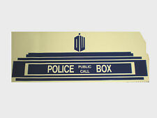 "Doctor Who Tardis above Door Decal, Sticker, Kids Room Wall Decor - 32"" x 12"""