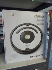 iRobot Roomba 670 Vacuum Cleaner Robot Wi-Fi Carpet Hard Floors