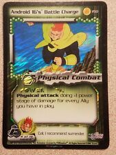 Android 16's Battle Charge #150 FOIL 5-Star Rare (Dragon Ball Z)